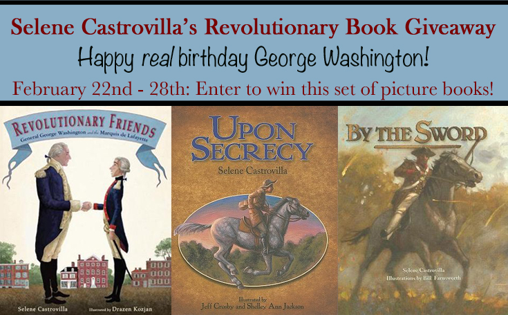 Revolutionary Book Giveaway by Selene Castrovilla