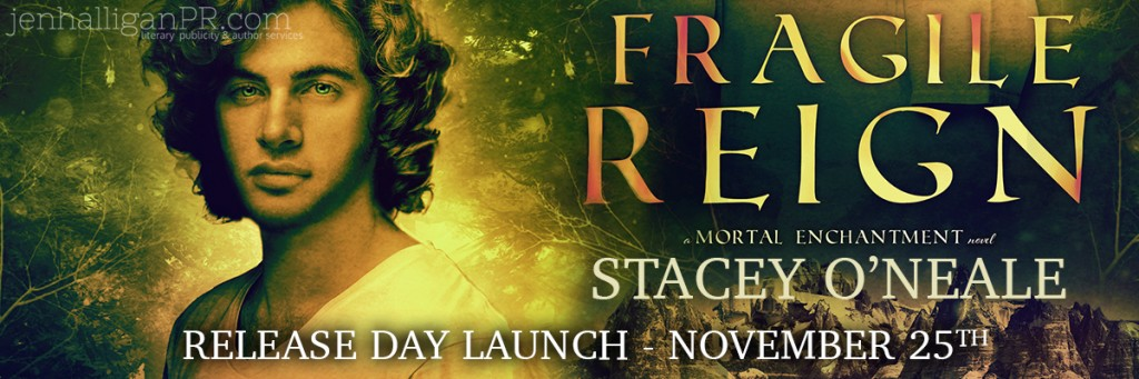 |Release Day Launch| FRAGILE REIGN by Stacey O'Neale