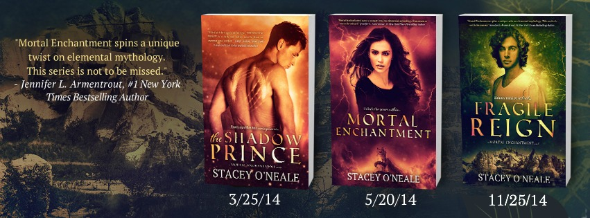 Mortal Enchantment Series by Stacey O'Neale
