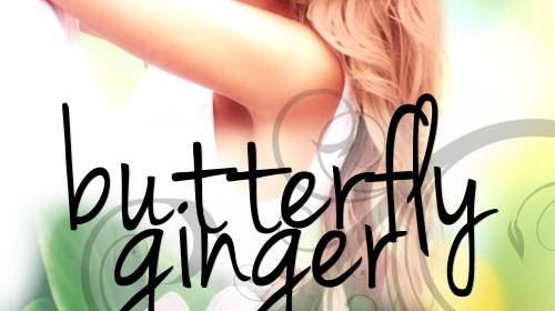 Cover Reveal | Butterfly Ginger by Stephanie Fournet