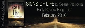 Signs of Life by Selene Castrovilla - JenHalliganPR