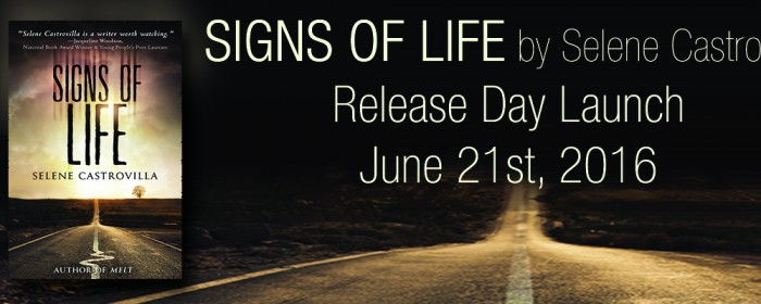 Release + Giveaway | SIGNS OF LIFE by Selene Castrovilla