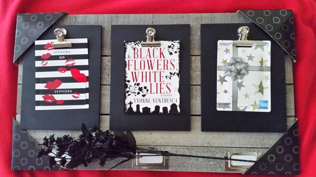 Black Flowers, White Lies Tour Prize | JenHalliganPR.com