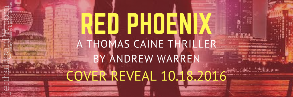 Reveal | RED PHOENIX by Andrew Warren | JenHalliganPR.com