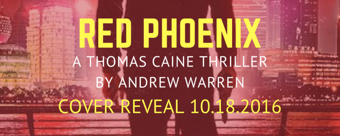 Cover Reveal + Giveaway | RED PHOENIX by Andrew Warren