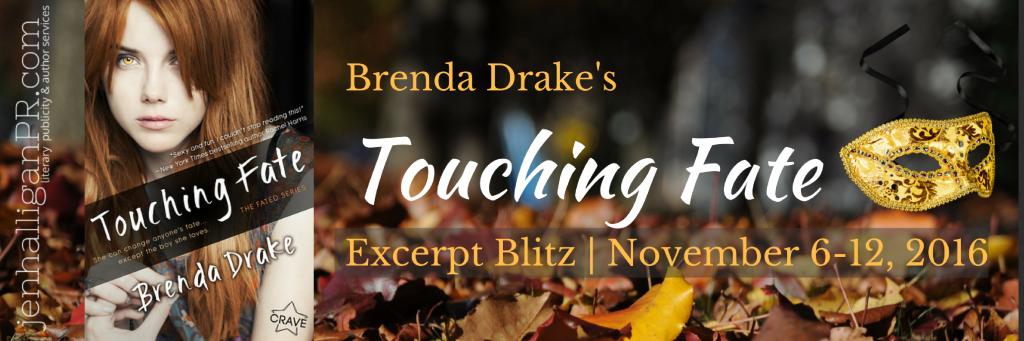 Touching Fate by Brenda Drake | JenHalliganPR.com #YAlit
