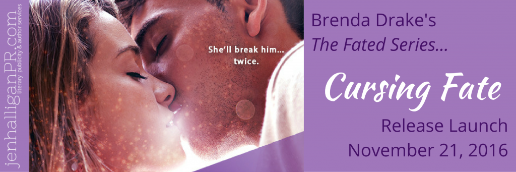 Cursing Fate by Brenda Drake | Release Launch Sign Up | JenHalliganPR.com
