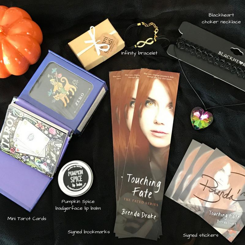 Touching Fate Prize Pack | JenHalliganPR.com