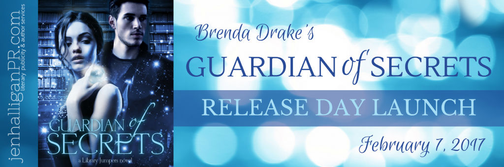 Guardian of Secrets by Brenda Drake | Release Day Launch | JenHalliganPR.com